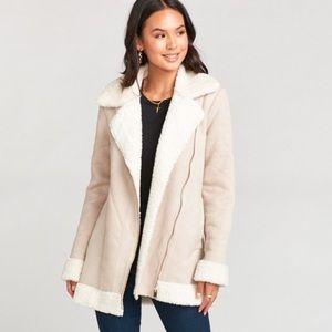 NWT Show Me Your  MuMu Calgary Coat